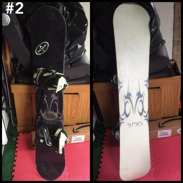 5150 Caprice 156cm Snowboard With Burton Custom Bindings