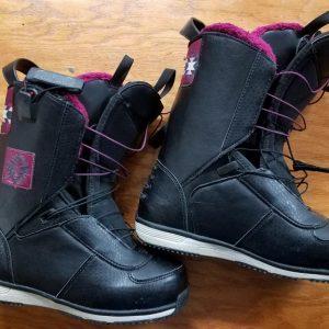 3f44755d79 Salomon Lily Women s Snowboard Boots 2014 Size 7.0 1-DAY NEW w  Box