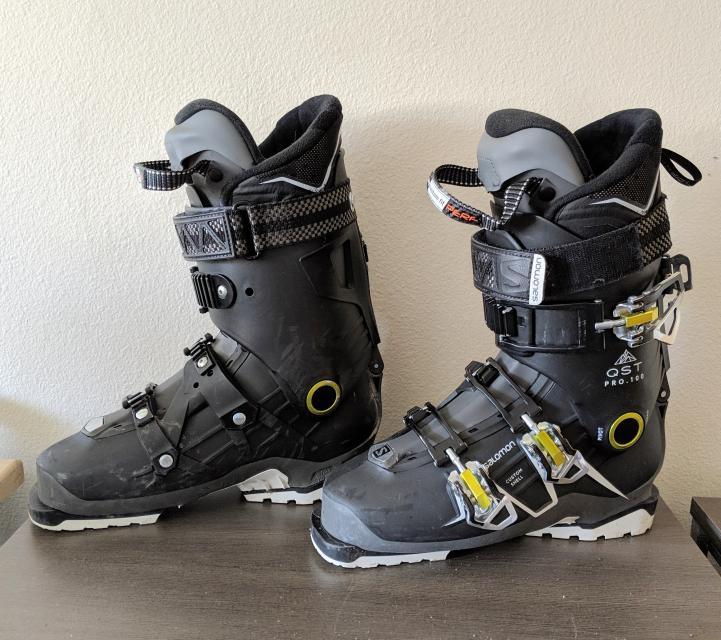 SALOMON QST PRO 100 TR TOURING SKI BOOTS